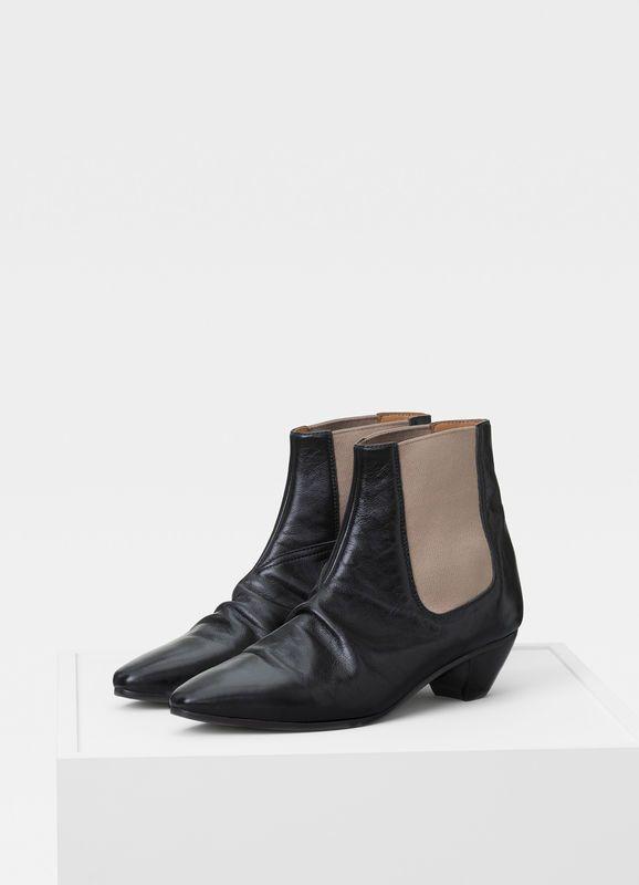 7bbab1717 John ankle boot in creased calfskin
