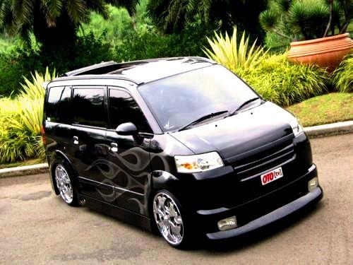 Modif Suzuki APV Hitam