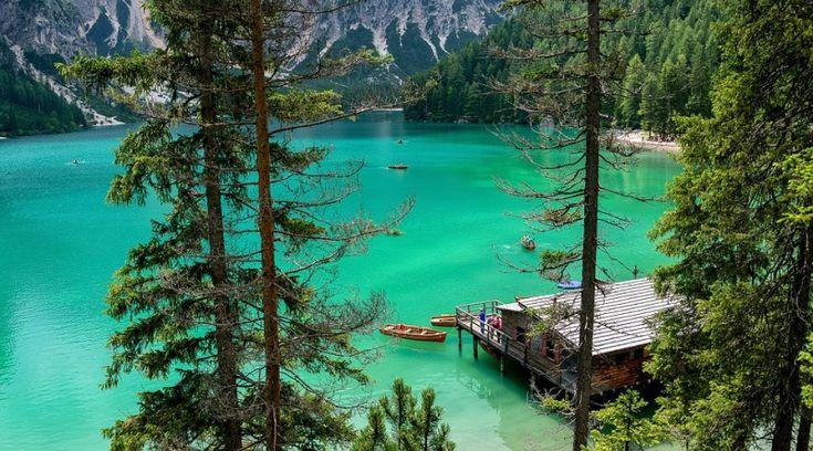 Danau Braies, Italia