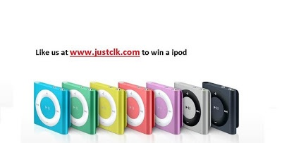 Like And Win Ipod Now