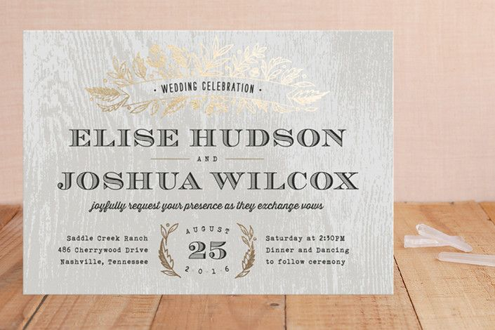Find out how to correctly word wedding invitations on SHEfinds.com.