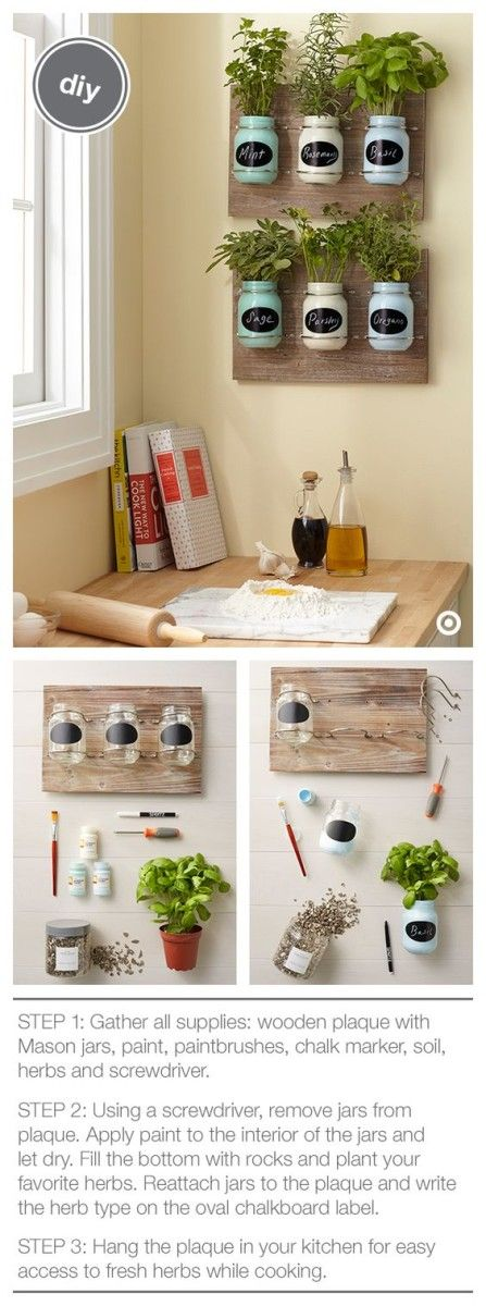 Shabby Chic Mason Jars Diy : A One Hour Craft