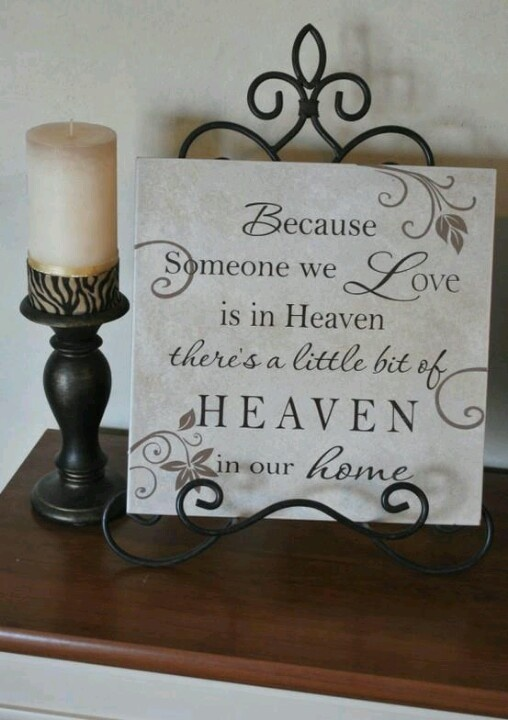 Would love to give this to my mother in law who lost her dad she loved so much.