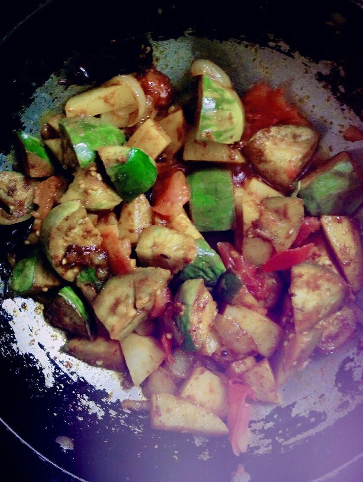 Spicy south Indian bengan