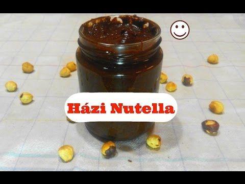 Házi Nutella! - Recept - YouTube