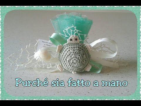 Tartaruga all'Uncinetto (BOMBONIERA) - Crochet Turtle Party Favor (english subtitles) - YouTube
