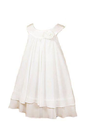 Kid's Dream Girl's White Simple Chiffon Girl Dress, http://www.amazon.com/dp/B00CJWAS72/ref=cm_sw_r_pi_s_awdm_JXwDxb86GJRDE