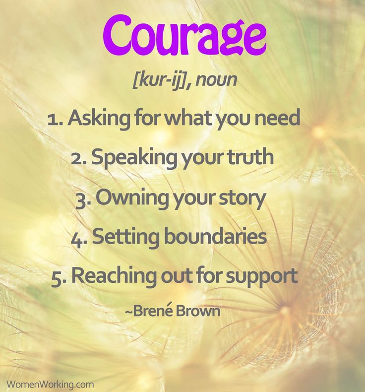 What is Courage by Brene Brown.                                                                                                                                                     More