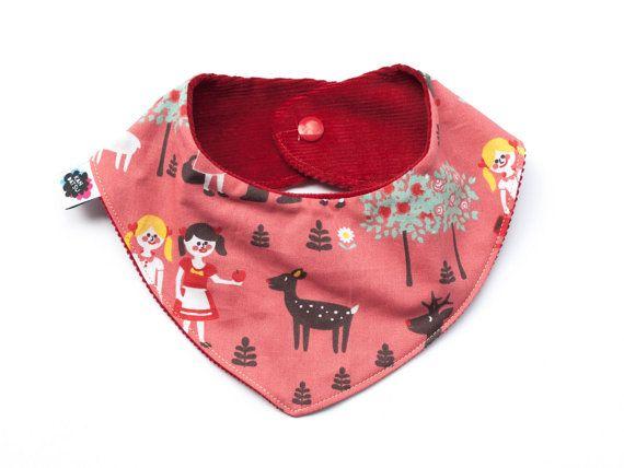 Rosa Halstuch Baby Mädchen. #etsyde#weihnachtsgeschenke#handgemacht #FindeDeinWeihnachten