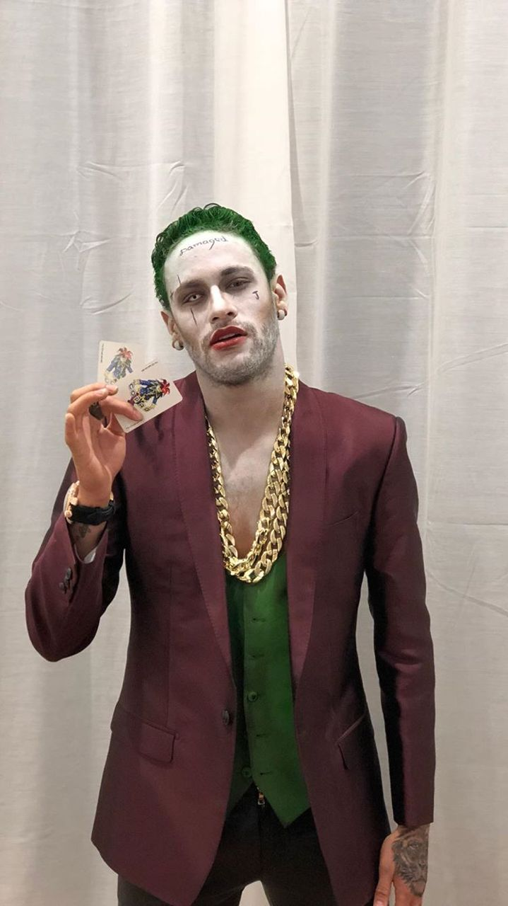 "heartsoftruth: ""Neymar 'The Joker' Jr | 01.11.17 """