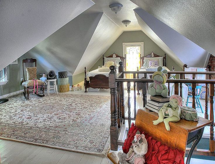 Cozy Cute Victorian Finished Attic Finishing The Attic