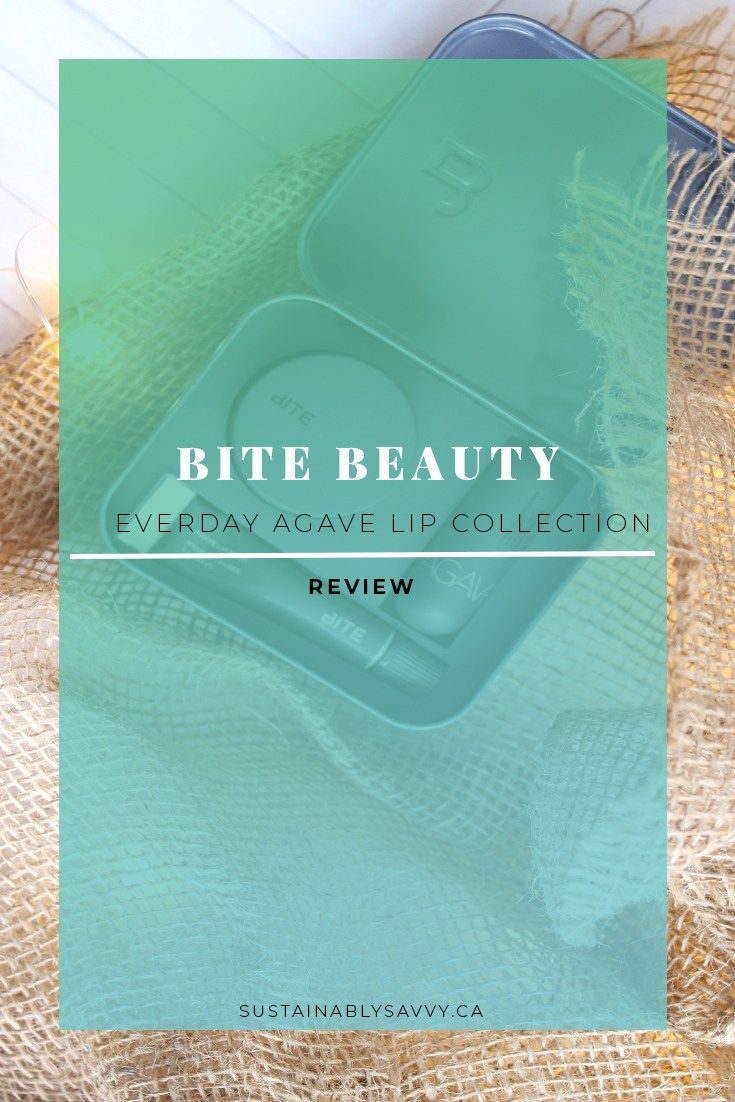BITE EVERYDAY AGAVE LIP COLLECTION | Green beauty | Bite Beauty