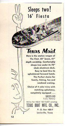 17 Best images about Vintage Boat Ads on Pinterest | Glass boat ...