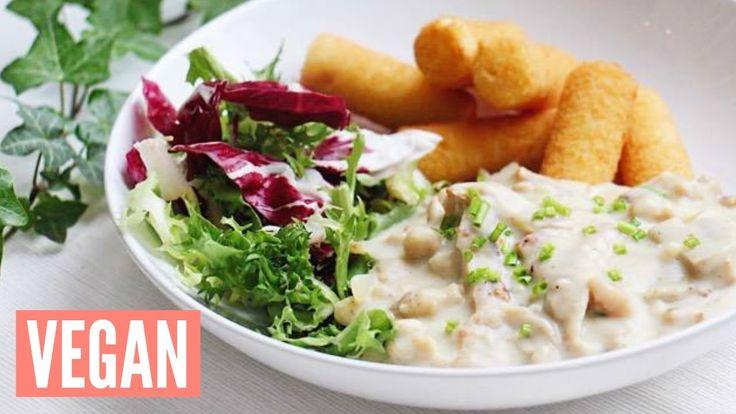 ► De tweede video van mijn serie #VeganVlaamseKost! Deze keer maken we vol-au-vent met kroketjes. Voor dit recept haalde ik mijn inspiratie bij EVAvzw (http:...