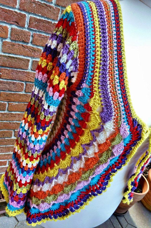 28 besten Häkel Kleidung Bilder auf Pinterest | Häkeln, Ponchos und ...