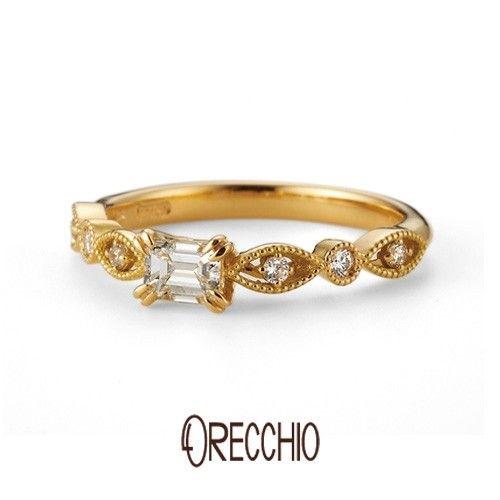 【オレッキオ】guira_ゼラニュウム ~無償の愛情~(婚約指輪) ID629 | ORECCHIO | マイナビウエディング #engagementrings