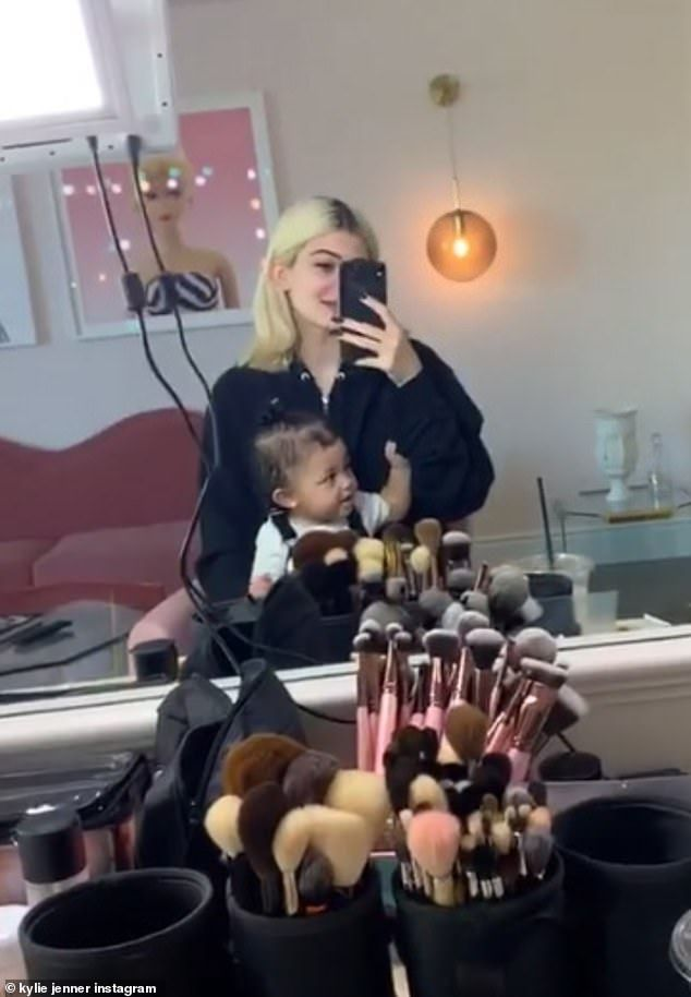 Kylie Jenner Posts Cute Video Of Stormi