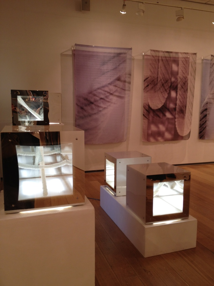 Installation by Catherine Dormor at Prism exhibition, Mall Galleries May 2012