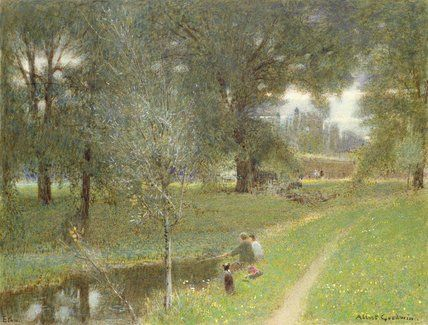 Eton de Albert Goodwin (1845-1932, United Kingdom)
