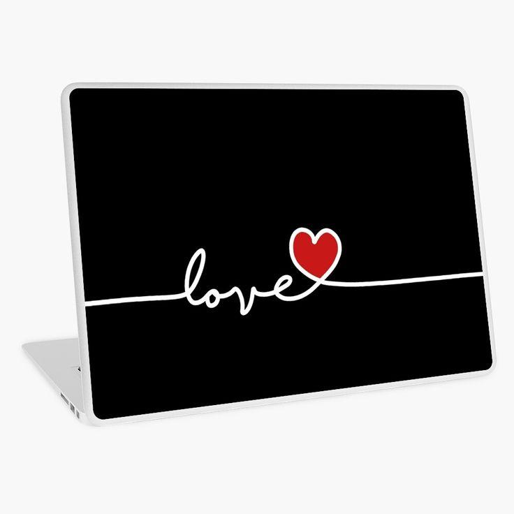 Love laptop skin by valentinahramov in 2020 laptop