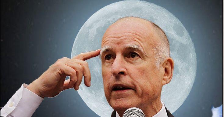 GOV MOONBEAM: The Land of Socialism and Left-Wing Politics - California,Planet Moonbeam