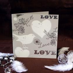 Svatební oznámení L085