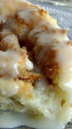 Bisquick Cinnamon Rolls Recipe ~ so easy to make and no waiting for them to rise!