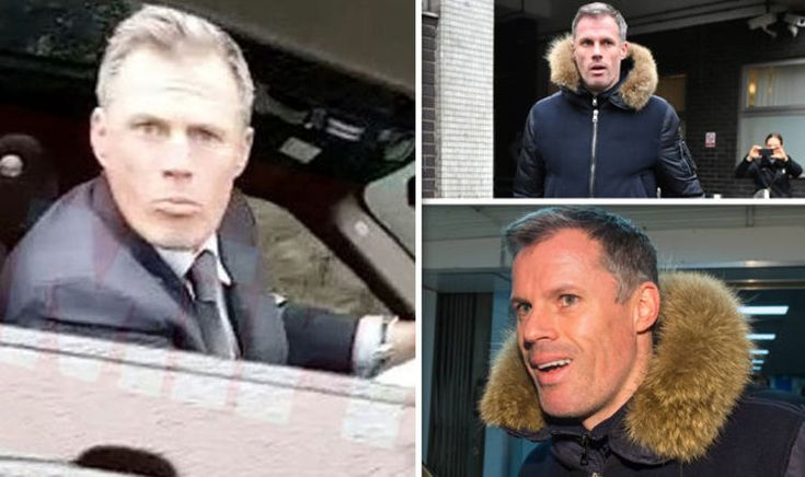 Jamie Carragher spit storm: Sky Sports AXE pundit for the rest of the season   Football   Sport #JamieCarragher