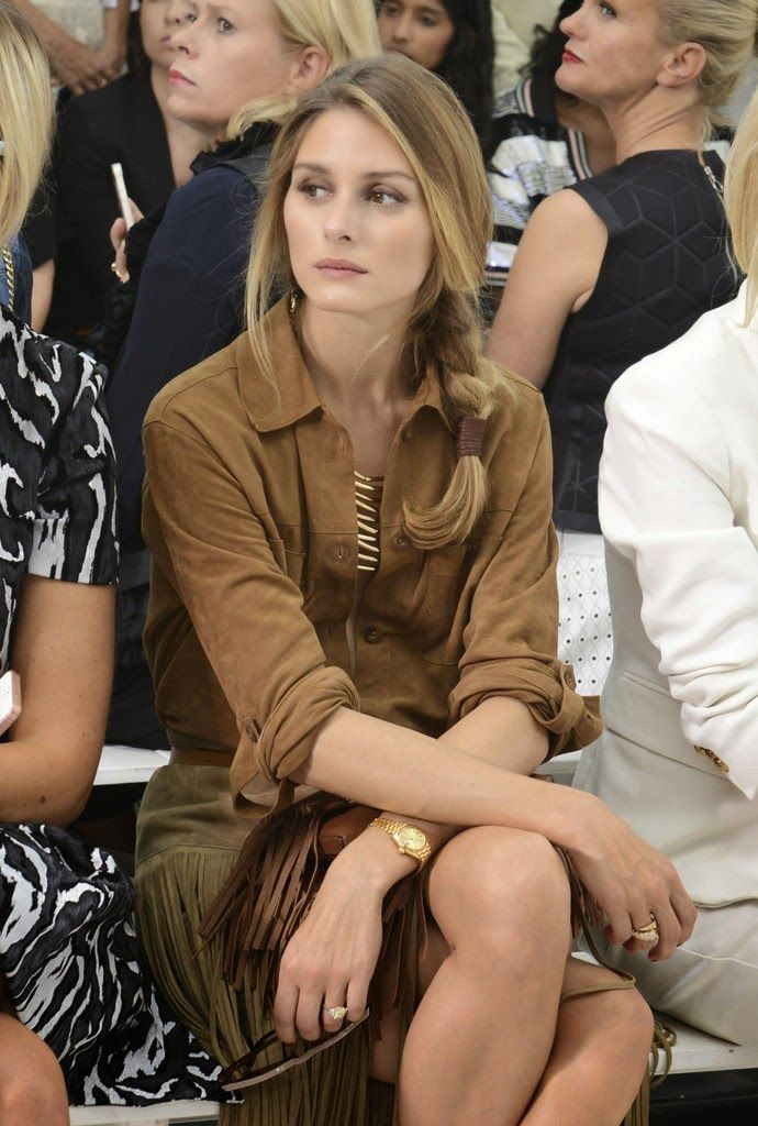 Olivia Palermo's Fringe Look at New York Fashion Week   The Front Row View