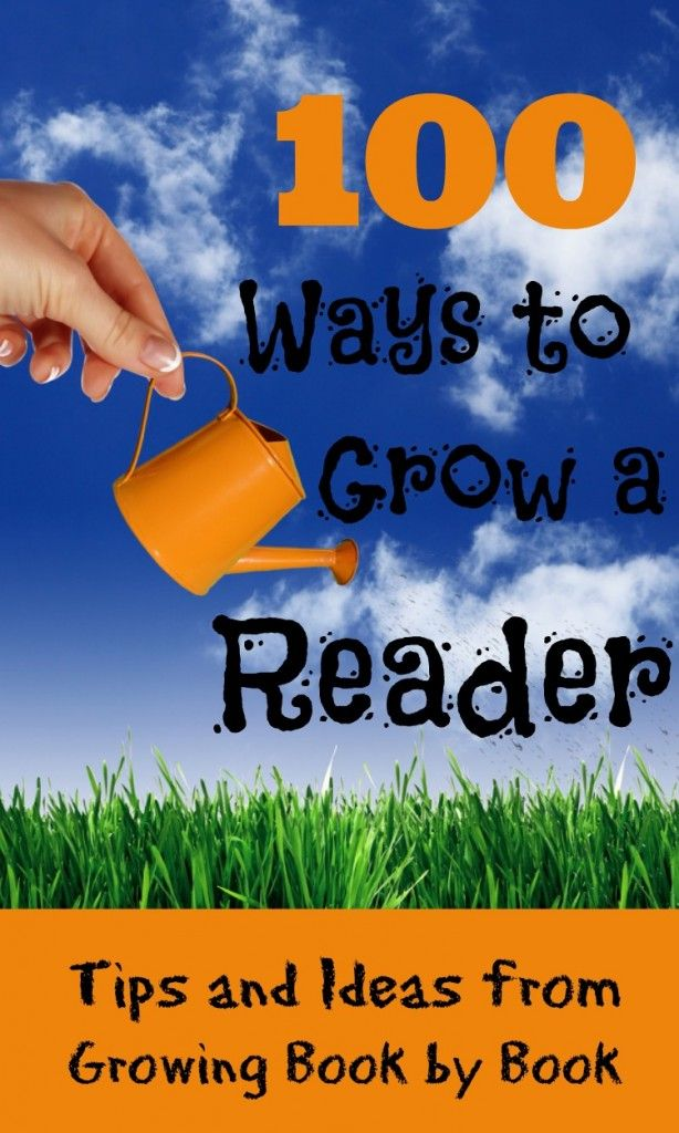 100 great ideas here to encourage kids to read.