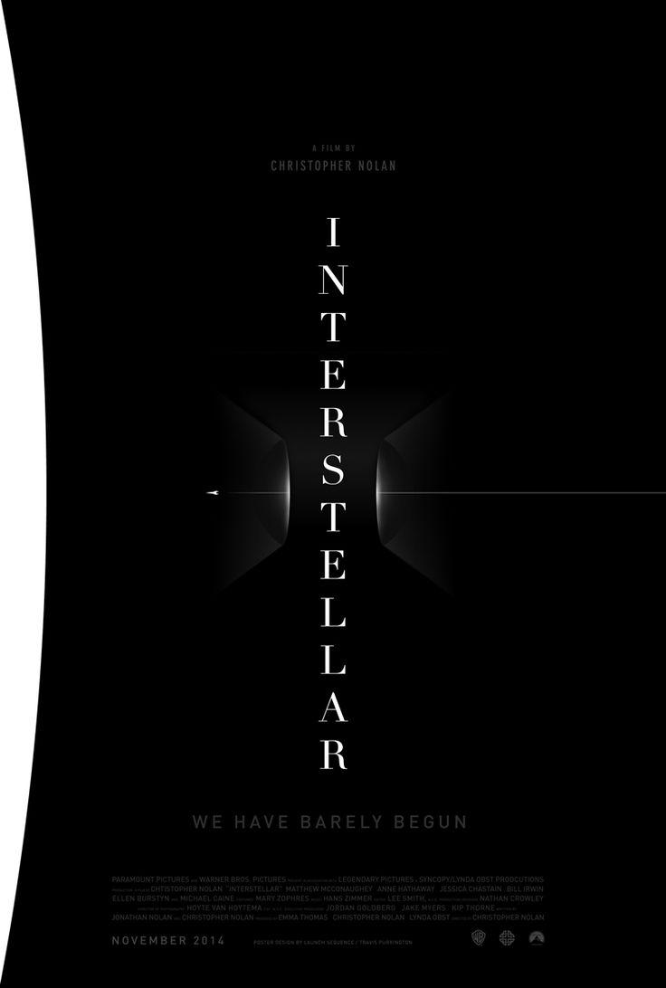 Fantastic poster for Interstellar Movie by Travis Purrington. #Poster #Interstellar