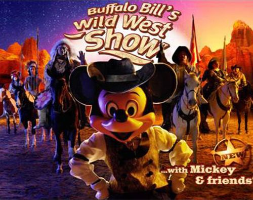 Disney Paris- Buffalo Bill's Wild West Show with Mickey