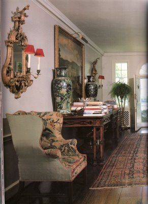 Annette Reed (de la Renta) house in Katonah, New York in the 1960s as decorated by Albert Hadley: Style, 1960S, Interiors, Income, Of The, House, Annette Reed, New York