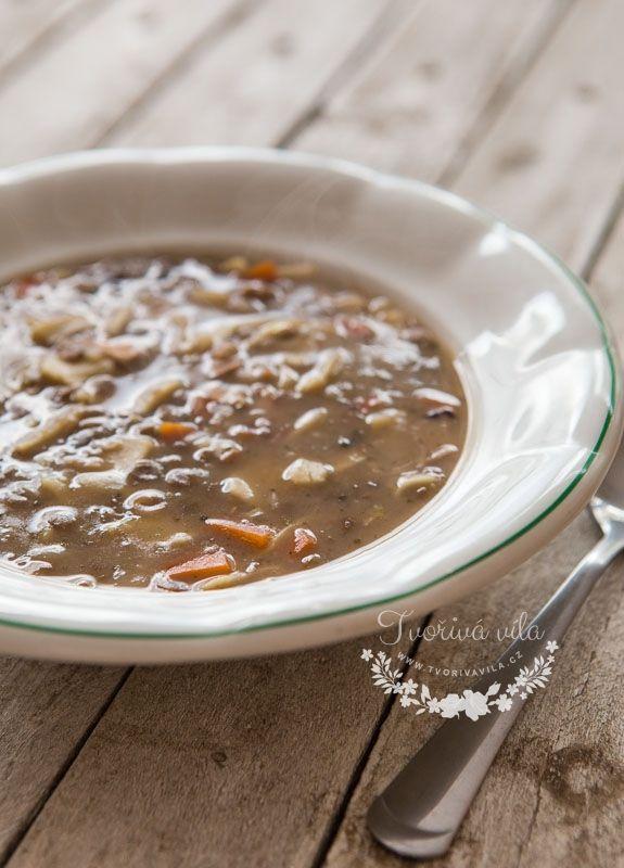 Poctivá čočková polévka