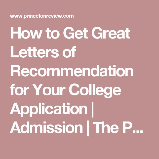 Best 25+ College recommendation letter ideas on Pinterest - letter of recommendation for college