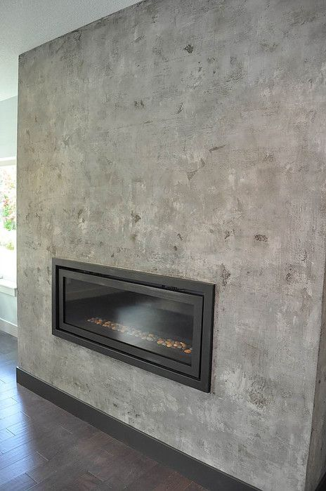 Venetian Plaster Fireplace With Images Venetian