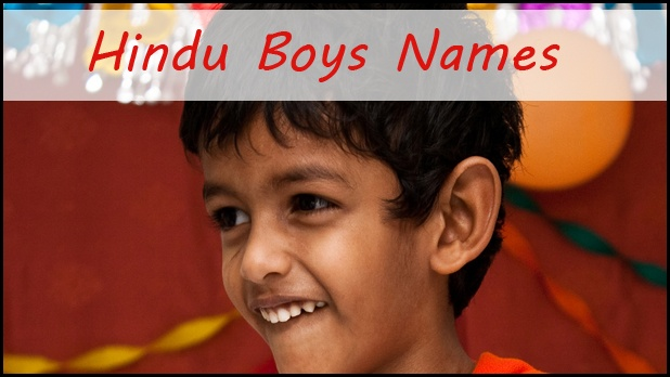 Hindu names for boys