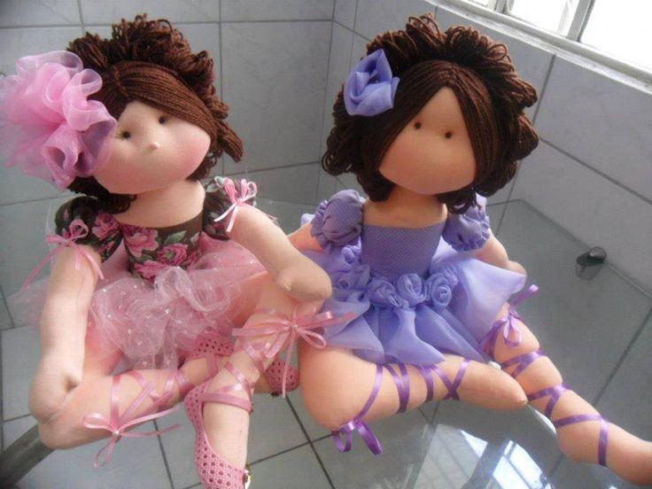 Moldes de estas preciosas bailarinas en tela. Son preciosas, verdad?