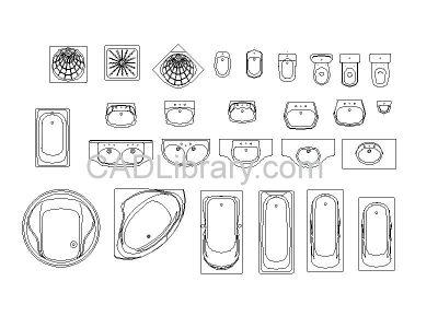 Bathroom Layouts Cad best 25+ cad symbol ideas on pinterest | cad blocks, cad library