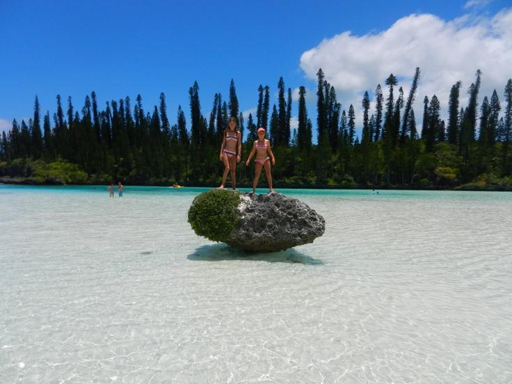 Beautiful Isle of Pines, New Caledonia.