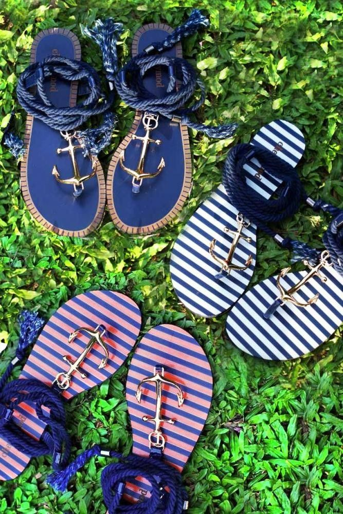 BE MY ANCHOR SANDALS! Size 40 (255mm) is size 9 in WUS