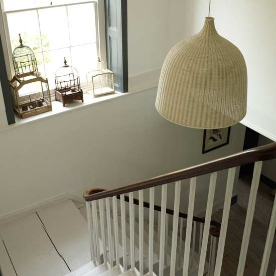 Mix textures for interest | Staircases | Hallway ideas | Image | housetohome.co.uk