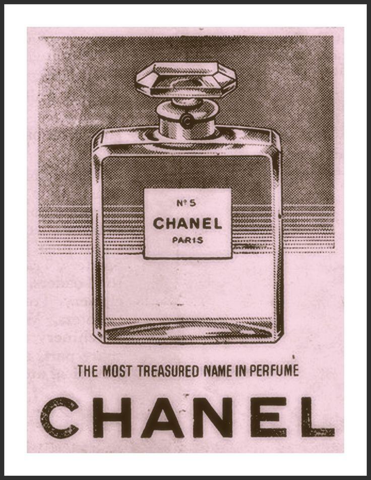 33 besten Chanel No.5 Vintage Poster Prints Bilder auf Pinterest ...