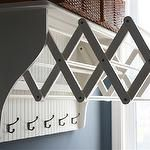 wall mounted accordion clothes dryer!