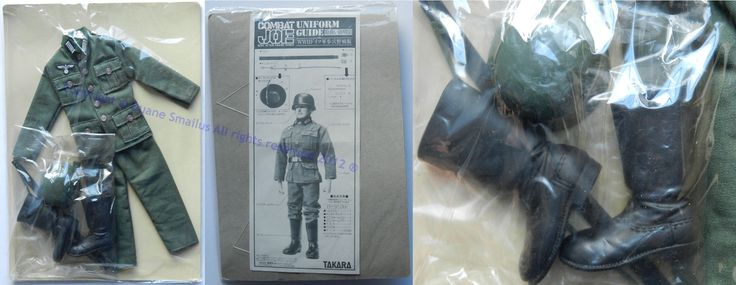 vintage 1980s Takara (Japan) Combat JOE RAFS German Stormtrooper Uniform Card | by Duane Smailus