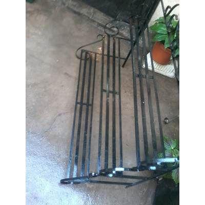 Porta Macetas Artesanal De Hierro Para Decorar - $ 890,00 en MercadoLibre