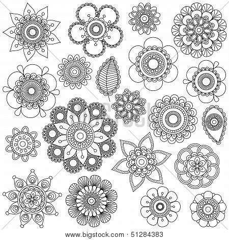 Mandala Flower Tattoo Designs- Would love to incorporate these in to my 1/4 sleeve I already have to make it a 1/2 sleeve