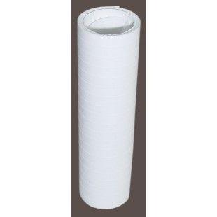 Serpentiini valkoinen palosuojattu 3 rll/pkt
