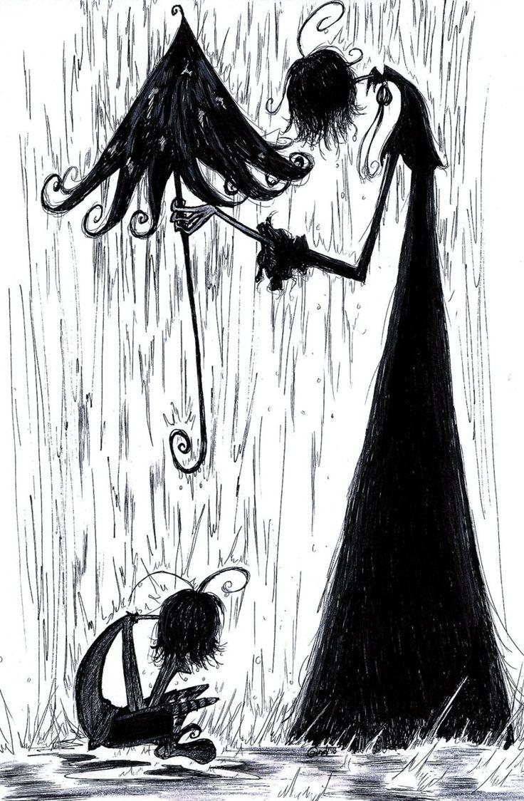 Stormy Night: Rain Hiding, Night Day, Black Gray, White, Stormy Night, Start Posts, Umbrellas Mania, Dashboards, Amazing Artistry