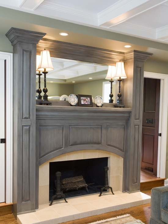 54 Best Images About Fireplace Redesign On Pinterest